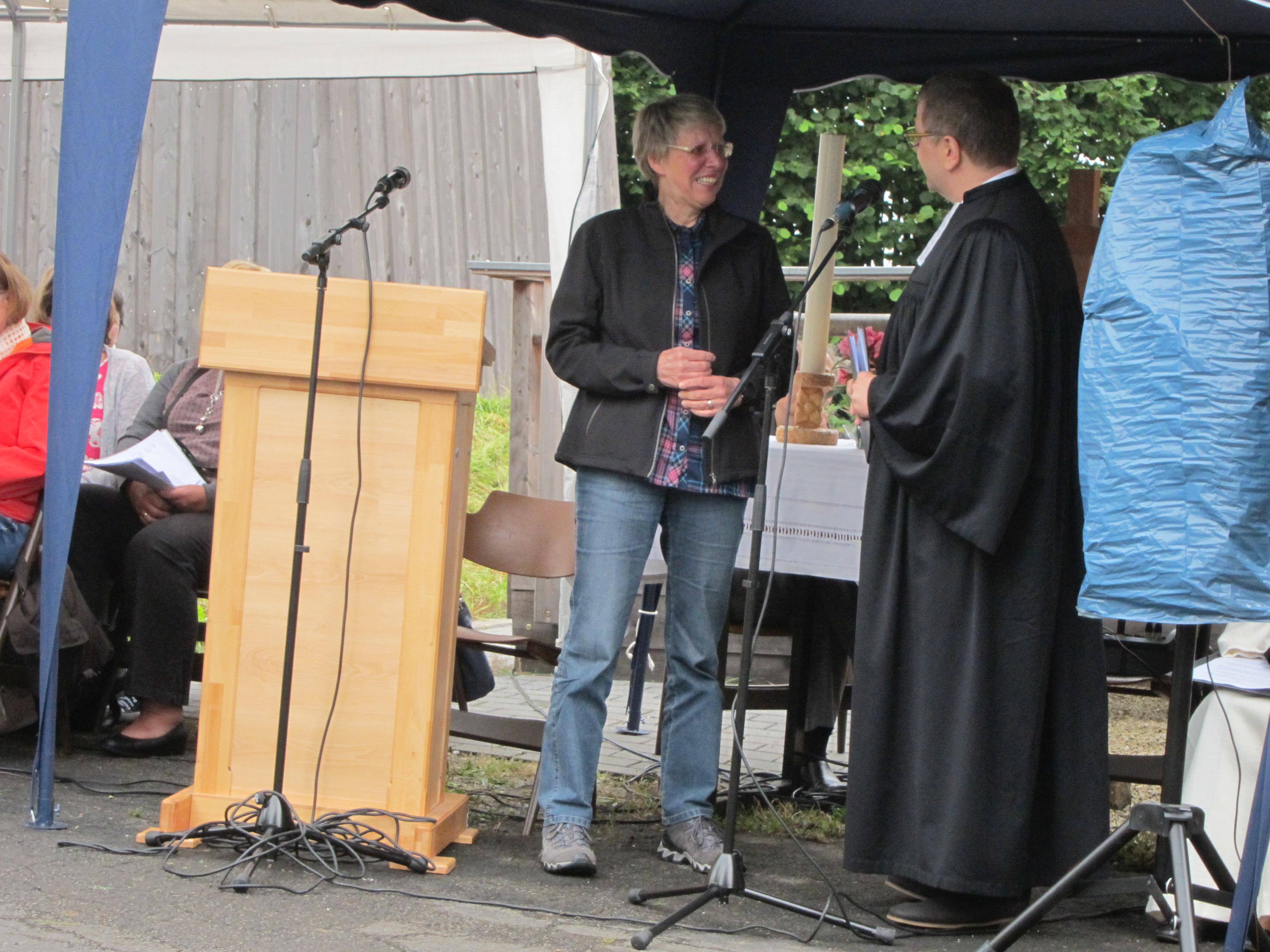 Freiluft-Gottesdienst 2017
