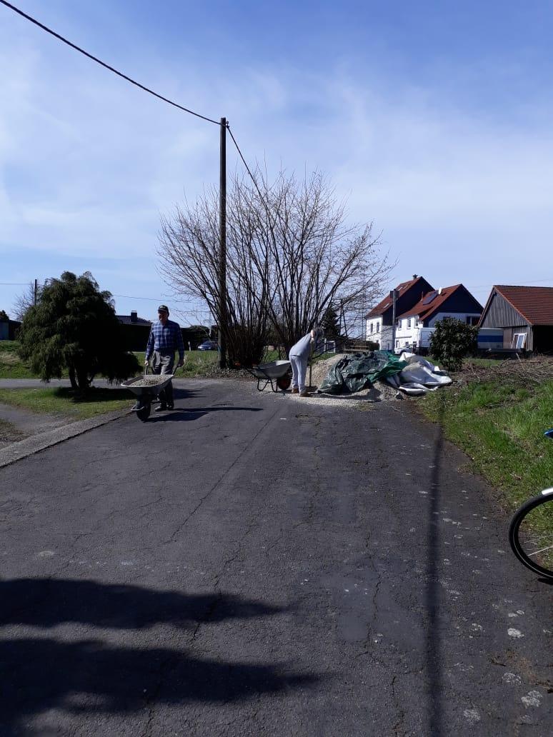 Äußerlichkeiten (Beete) April/Mai 2018