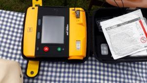 Defibrillator in St. Heribert